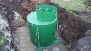 Кессон скважины для воды