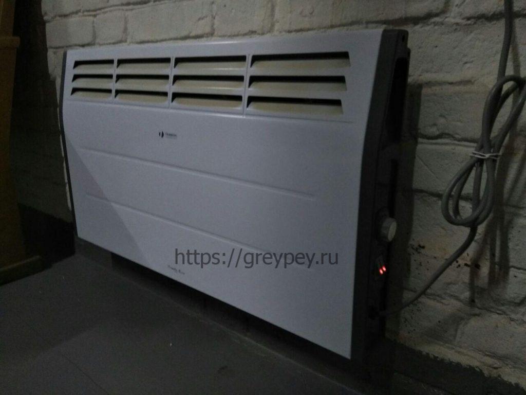 Виды электрического отопления - конвектор