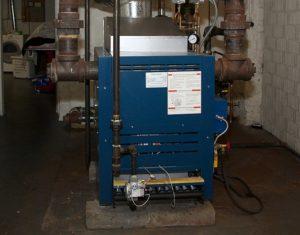 Наполный газовый котел отопления