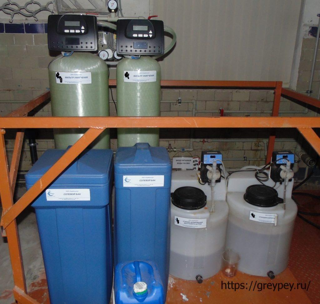 Система водоподготовки парового котла