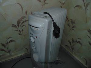 Отопление лоджии отдельным электрическим прибором
