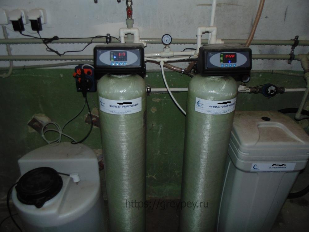 Система водоподготовки парового отопления