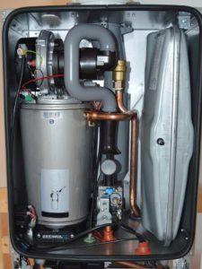 Устройство газового котла для отопления