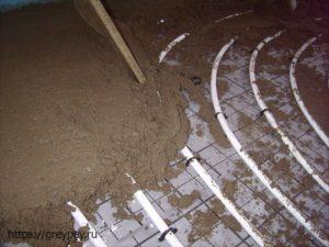 Водяные теплые полы из металлопластика