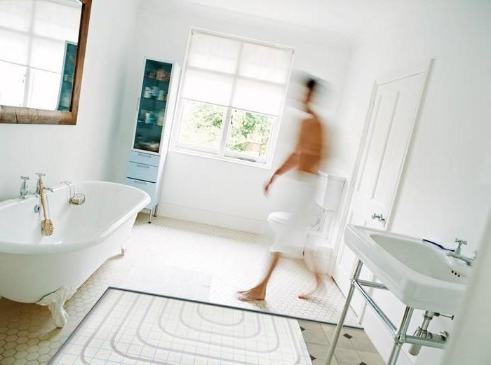 Водяные теплые полы от полотенцесушителя в квартире