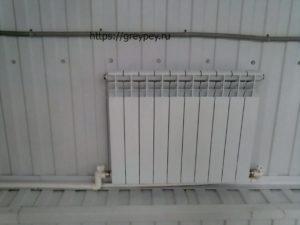 Радиатор отопления из алюминия