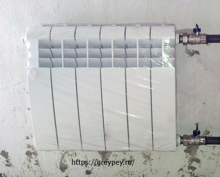 Характеристики биметаллического радиатора