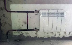Однотрубная схема подключения с байпасом