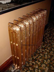 Дизайн радиатор (ретро) из чугуна
