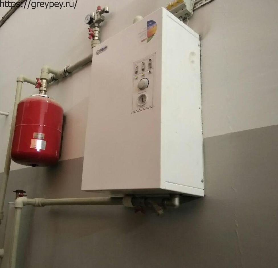 Разновидности электрических котлов отопления