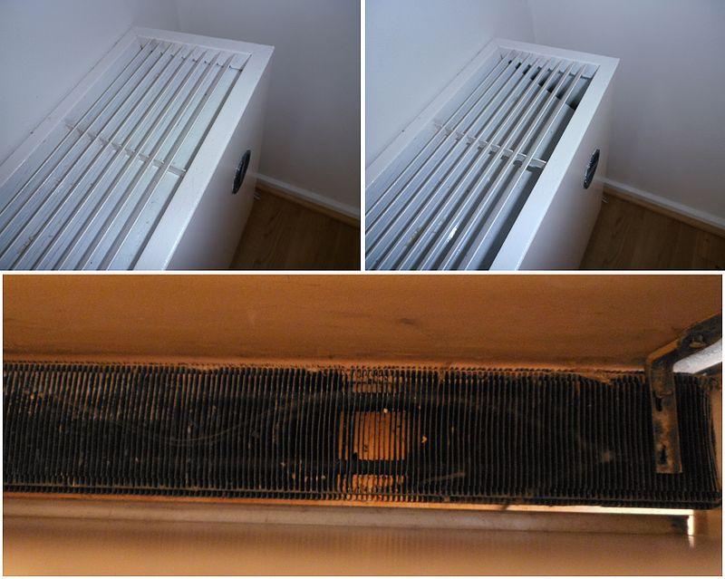 Устройство конвектора отопления