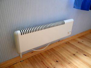 Электрический конвектор с механическим термостатом