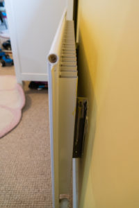 Стальной радиатор с одной панелью и одним элементом оребрения