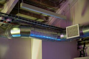 Подвесная система воздушного отопления