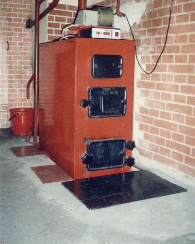 Газово-твердотопливный универсальный котел