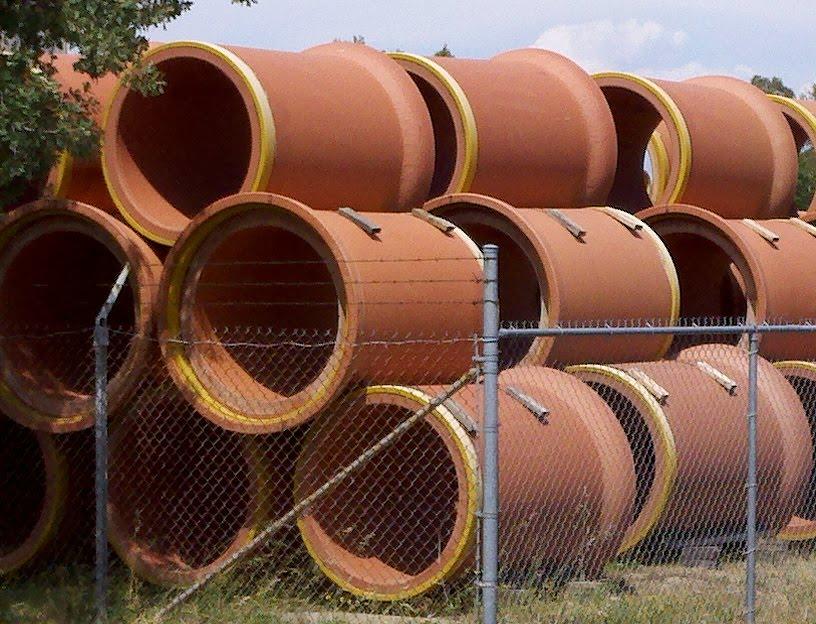 Керамические трубы канализации