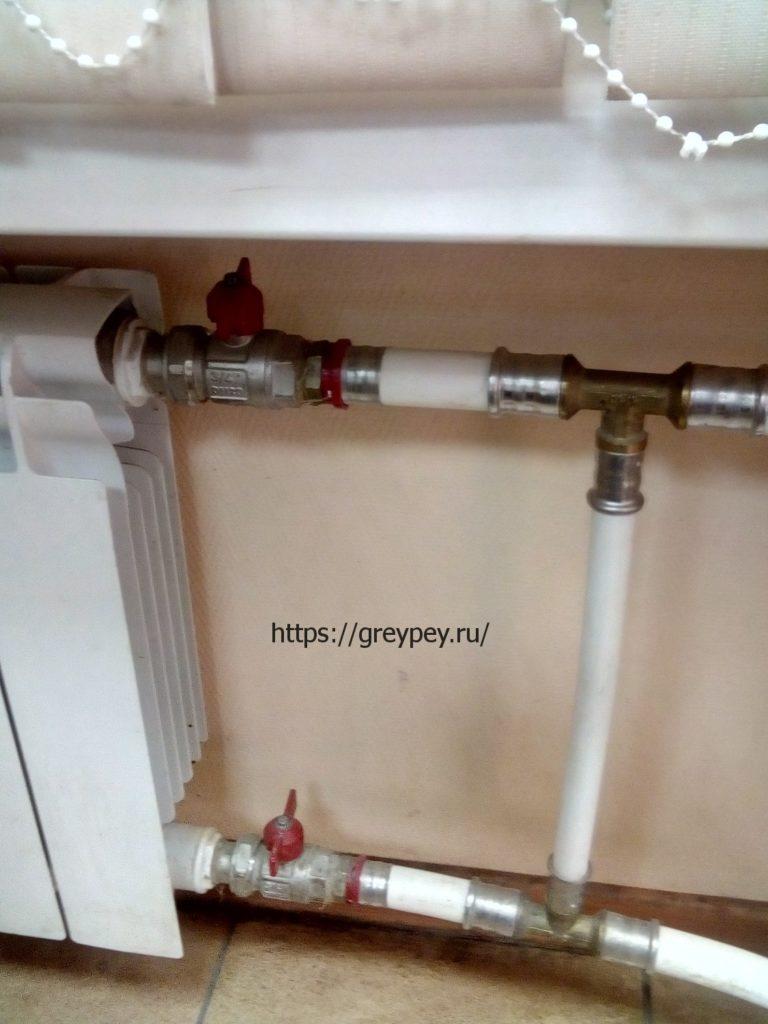 Металлопластиковые трубы отопления