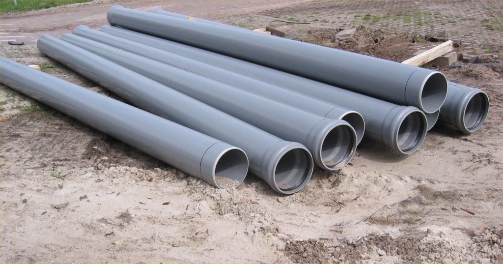 Пластиковые трубы канализации