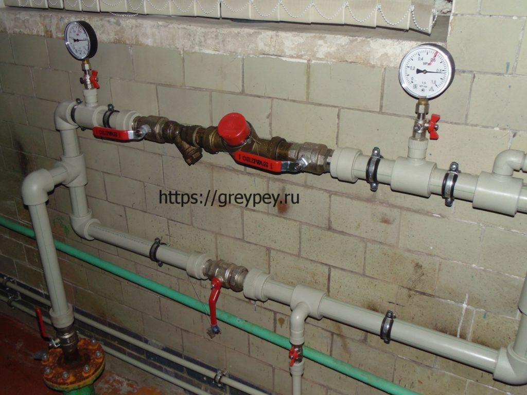 Полипропиленовые трубы водопровода