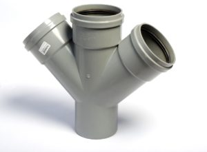 Тройник канализационный из полипропилена