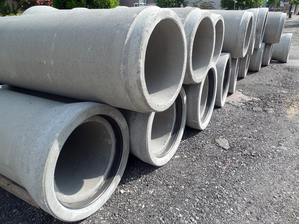 Железобетонные трубы канализации