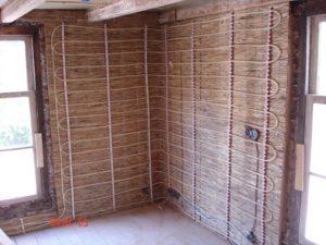 Эффективность системы отопления теплыми стенами