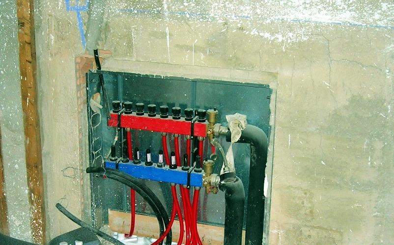 Коллекторы лучевой системы отопления