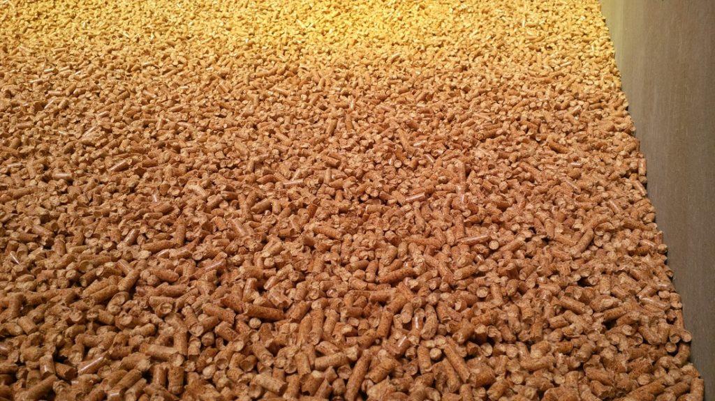 Пеллеты - древесные гранулы