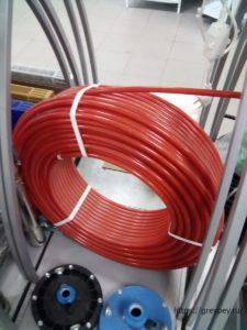 Труба для отопления из сшитого полиэтилена
