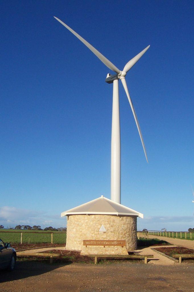 Ветряной электрический генератор