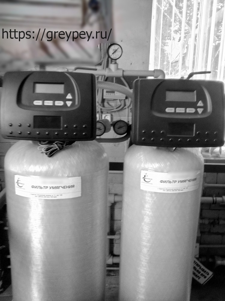 Ионообменная установка умягчения воды