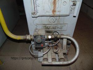 Механическая автоматика напольного газового котла