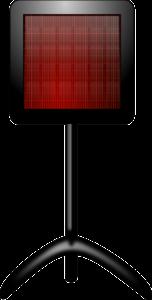 Напольный инфракрасный обогреватель