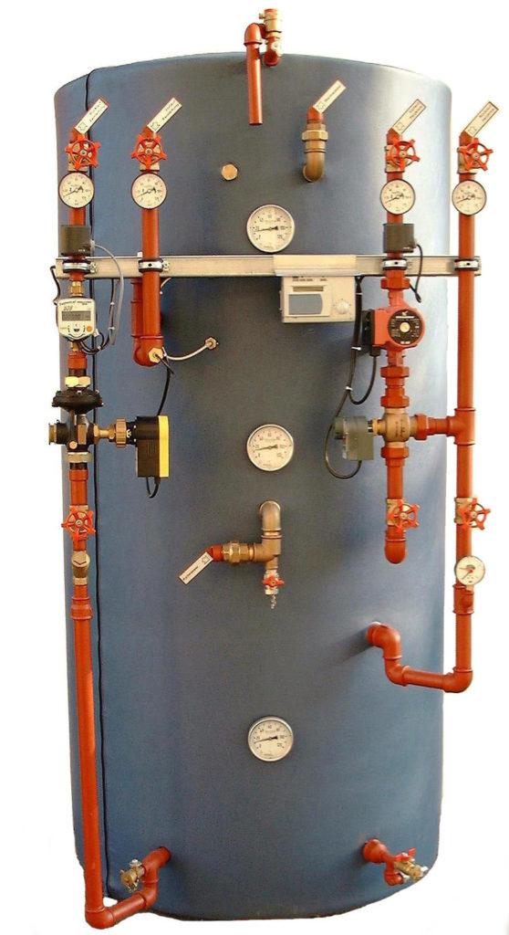 Теплоаккумулятор системы отопления