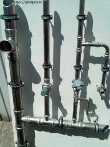 Трубопроводы систем водоснабжения