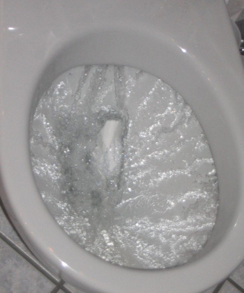 Унитаз с круговым сливом