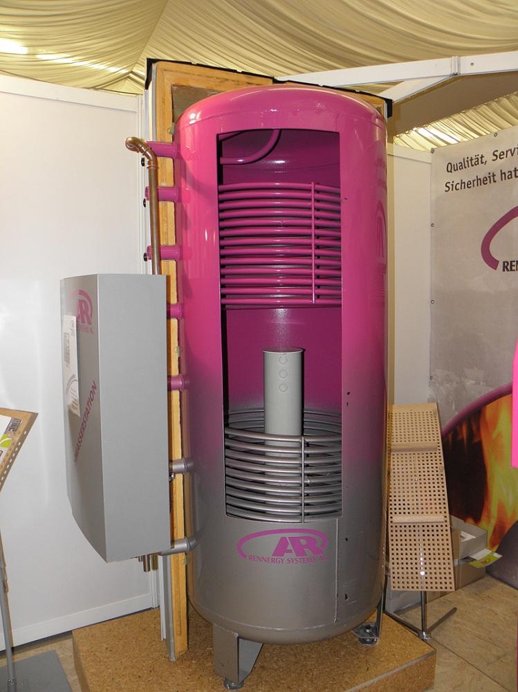 Устройство теплоаккумулятора для отопления