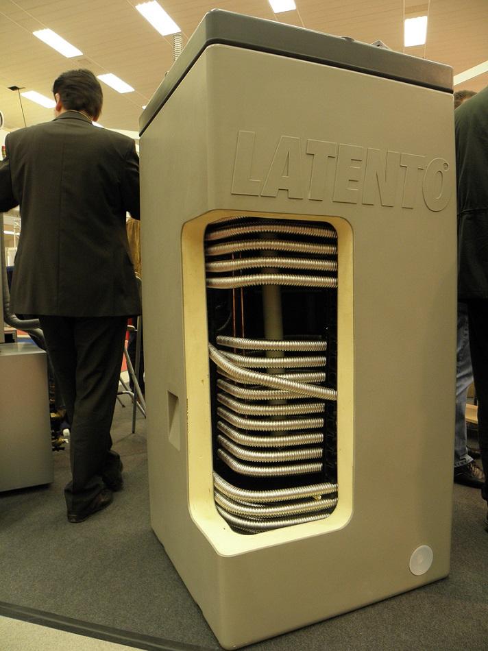 Бойлер косвенного нагрева со спиральным теплообменником