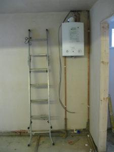 Проточный газовый водонагреватель