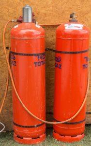 Сжиженный газ в баллонах