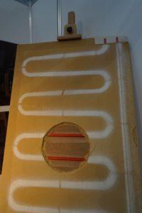 Модульный блок водяного теплого пола