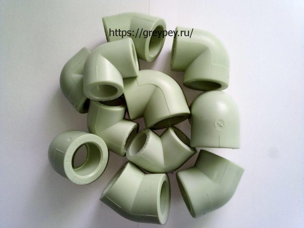 Углы (отводы) полипропиленовые