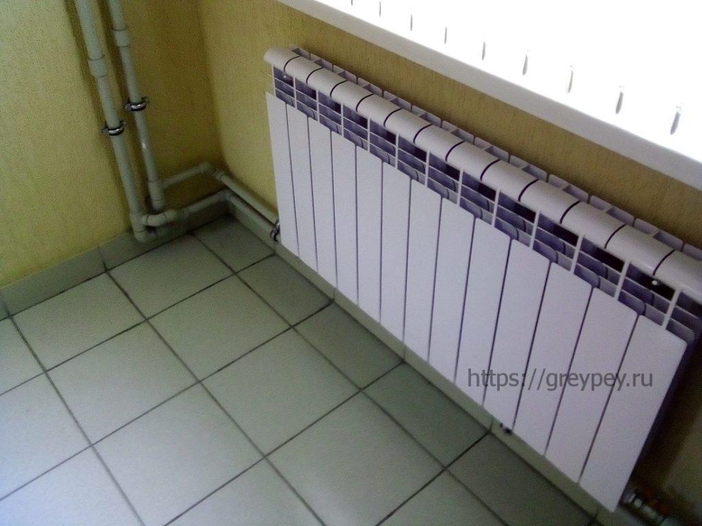 Как соединить радиаторы отопления между собой