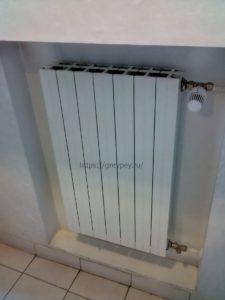 На какой высоте вешать радиаторы отопления