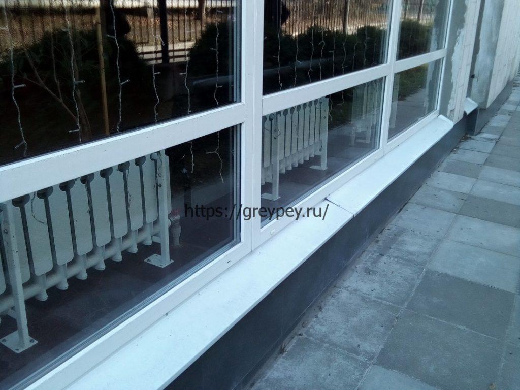 Низкие радиаторы отопления для панорамных окон