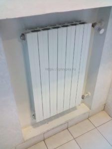 Радиаторы отопления в бане