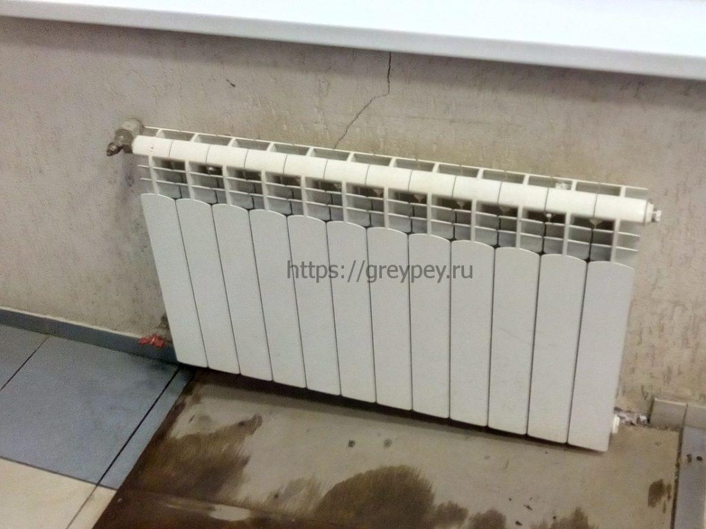 Давление в батареях центрального отопления