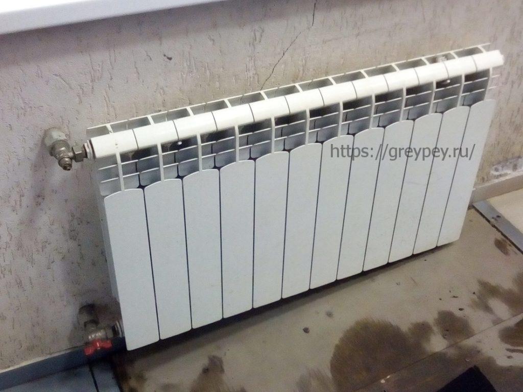 Испытания радиаторов отопления