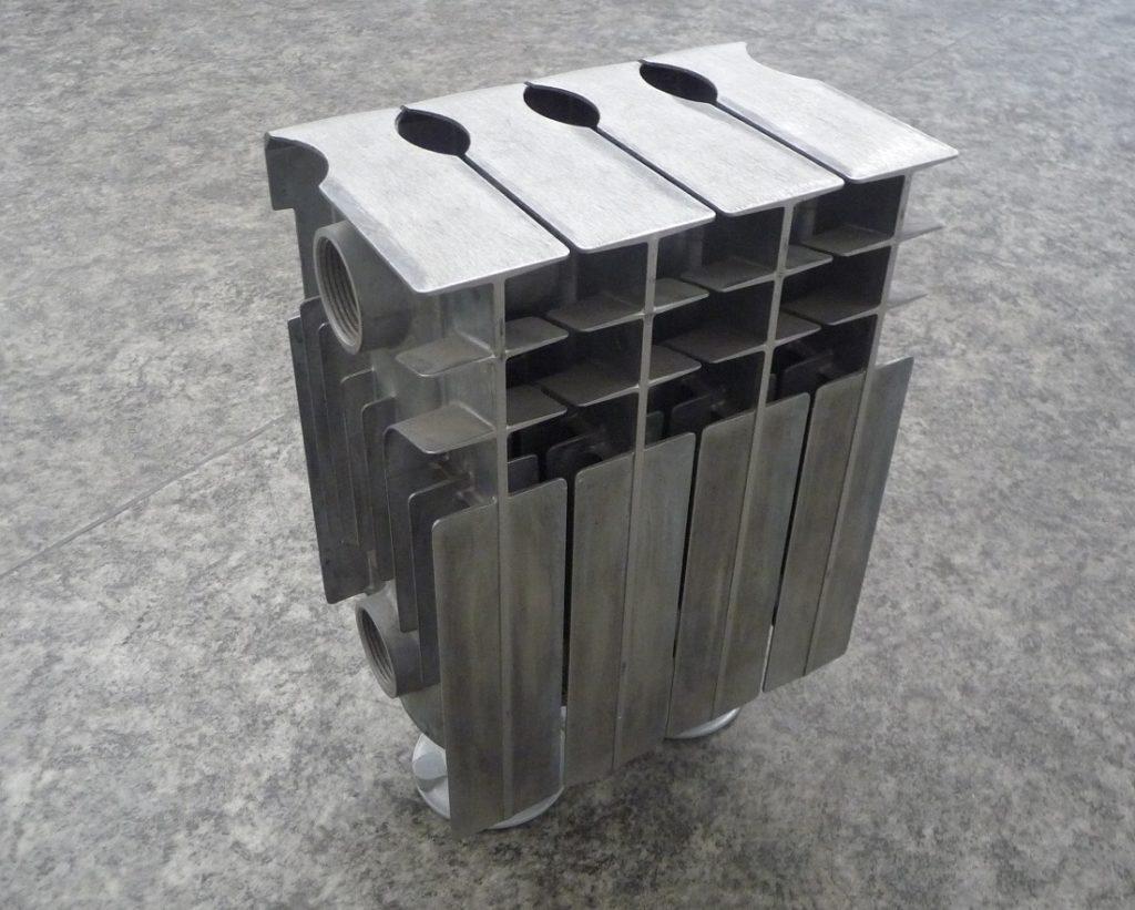 Кубический дизайнерский радиатор