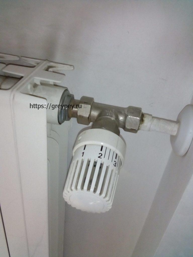 Принцип работы терморегулятора батареи отопления
